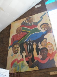 mural in South Africa