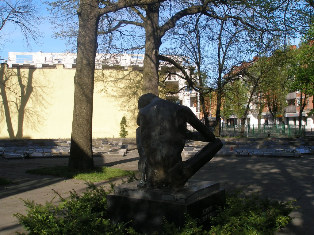 A memorial in Klaipeda, Lithuania for the known and unknown people who were deported to Siberia during the Soviet Occupation of Lithuania.