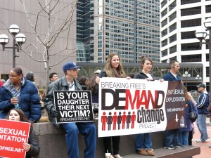 Breaking Free's Demand Change rally in Minneapolis, May 2013.  Photo by Naomi Krueger