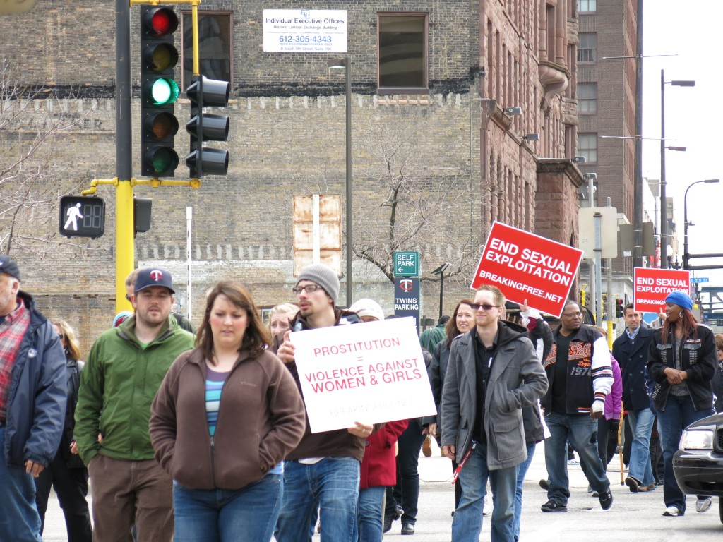 Breaking Free's Demand Change rally in Minneapolis, MN. Photo by Naomi Krueger