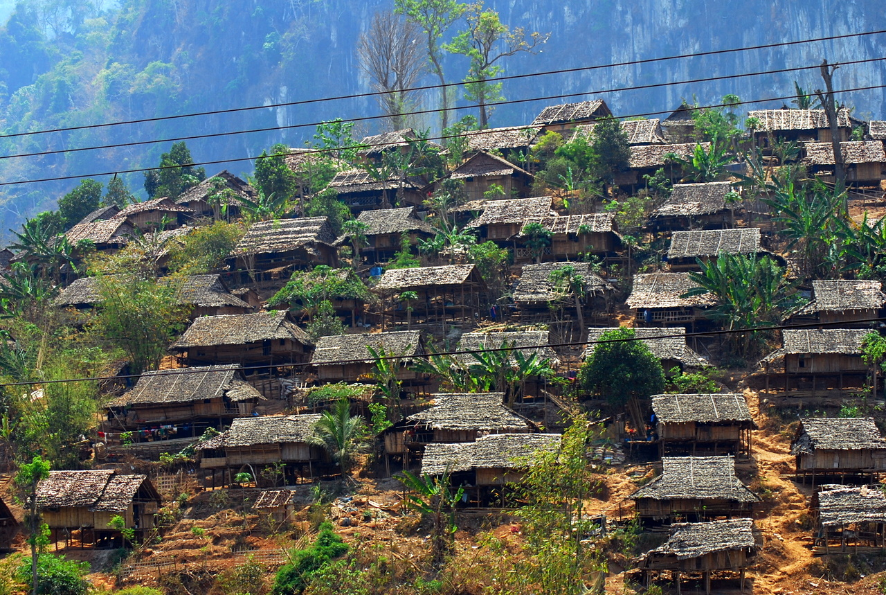 Mae La refugee camp in Thailand. Photo by Mikhail Esteves.