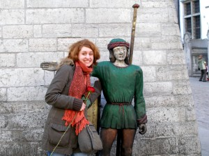 Making friends in Tallinn, Estonia