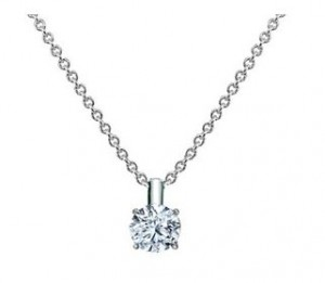 A Brilliant Earth diamond necklace