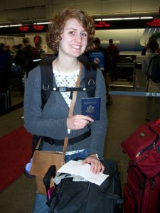 Me, heading out to study abroad in Lithuania my sophomore year in college.