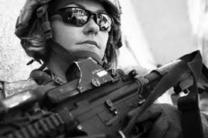 female-soldier-photo_from-online_bw