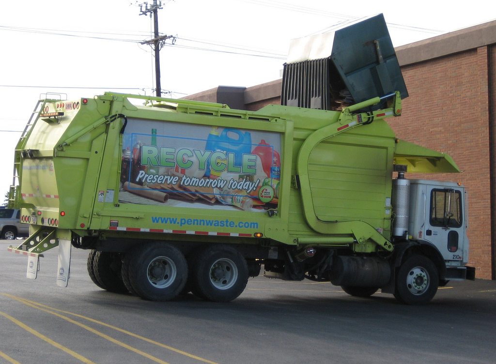 Recycling Truck _Hugo90
