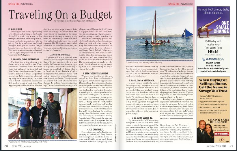 Traveling On A Budget In The Philippines Naomi Krueger