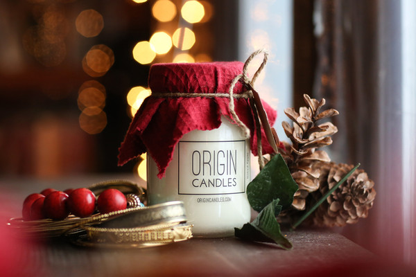 Origin Candles. Photo by Mykou Thao.