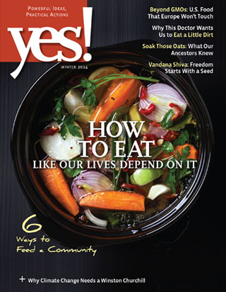 Yes Magazine cover