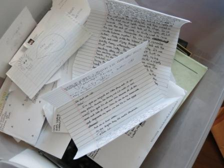 My box of letters.